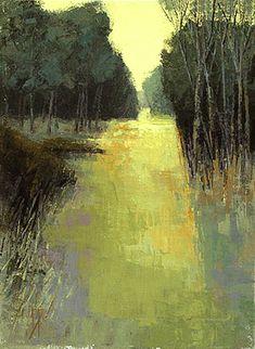 ☼ Painterly Landscape Escape ☼ landscape painting by Brent Watkinson