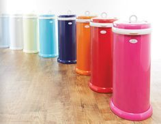 Must Have Baby Registry Item - A diaper pail that functions like no other