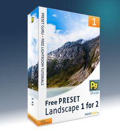 Free Lightroom Preset: Landscape 1 for 2