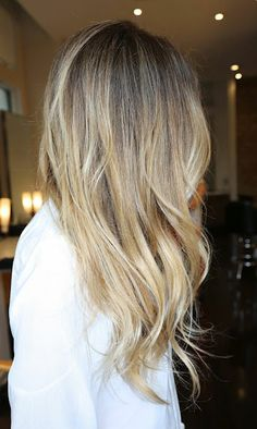 How ombré is SUPPOSED to be done.