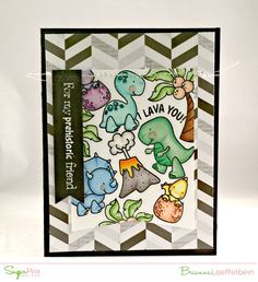 Happy Scrapper: SugarPea Design Team Day- Prehistoric Love