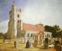 The Old Church by William Holman Hunt, 1847