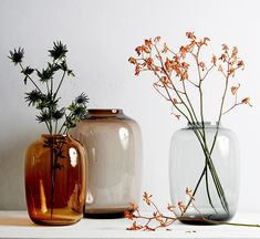 Made in India these oversized vases can stand alone or be mixed and matched to create a nice set. Flower Vases, Flower Art, Interior Design Trends, Design Vase, Japanese Home Decor, Home Furnishing Stores, Still Life Photos, Floral Rug, Plant Decor