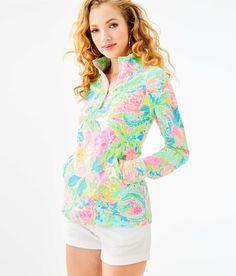ad5d0c653e17 UPF 50+ Skipper Popover | 000733 | Lilly Pulitzer Sunshine State, Beach  Dresses,