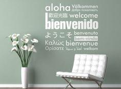 Vinilo Decorativo Bienvenida