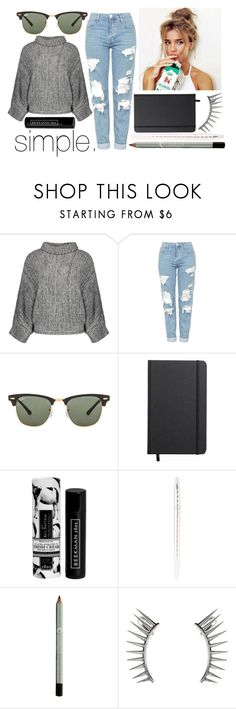 """""""Simple"""" by leonorgomes on Polyvore featuring Topshop, Ray-Ban, Shinola, Beekman 1802 and Latelita"""