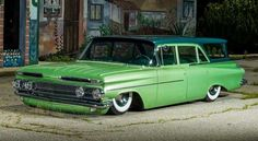 Cody Walls '59 Brookwood wagon - Photo by John Jackson