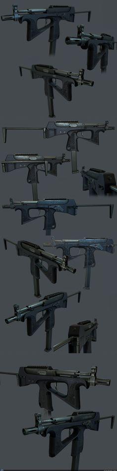 пистолет пулемет 2000.