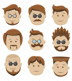 VECTOR DOWNLOAD (.ai, .psd) :: https://realistic.photos/article-itmid-1008510400i.html ... 12 Face Collection ... brown, classic, face, faces, glasses, happy, head, human, icon, man, men, mustache, old, sideboards, smile, vintage ... Vectors Graphics Design Illustration Isolated Vector Templates Textures Stock Business Realistic eCommerce Wordpress Infographics Element Print Webdesign ... DOWNLOAD :: https://realistic.photos/article-itmid-1008510400i.html