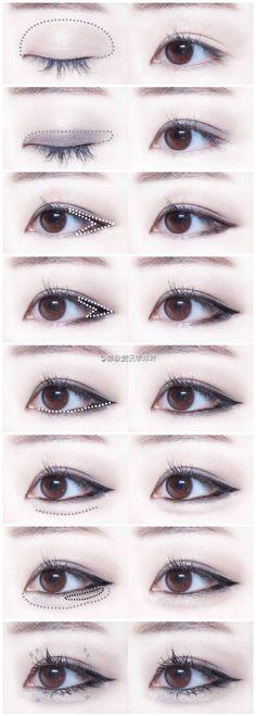 撒娇眼线眼妆