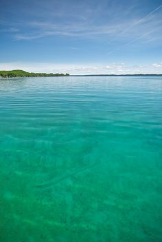 Beautiful Torch Lake, Mich - This takes me back to the 'good old days!'