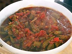 Quick and Easy Stewed Okra Recipe : Emeril Lagasse : Food Network - FoodNetwork.com