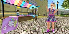 Meet JoJo Siwa at star stable in Fort pinta today .