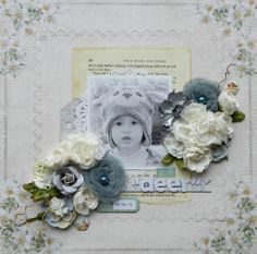 "My ""Deer"" **C'est Magnifique December Kit** - Scrapbook.com  ""Silent Night"" collection from Pion Design"