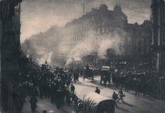 """1897: Oxford Street, London. """"Fire in Oxford Street"""""""