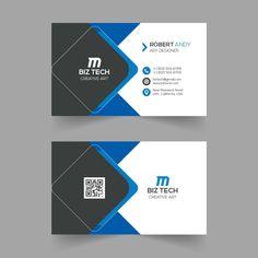 Creative blue business card template design Business Invitation, Letterpress Business Cards, Free Business Card Templates, Free Business Cards, Business Card Design, Creative Business, Corporate Business, Business Tips, Design Set