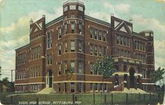 Pittsburg High School  Building