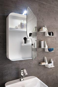 Miroir pour salle de bain Collection Tulip by ARBLU