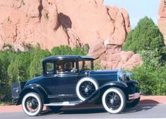 1931 Ford Model A Deluxe Coupe....