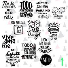 Etiquetas Autoadhesivas Rotuladas Frascos De Vidrio X12 - $ 149,00 ... Scrap Material, Mr Wonderful, Blog Planner, I Can Do It, S Pic, Word Art, Art Quotes, Decoupage, Stencils