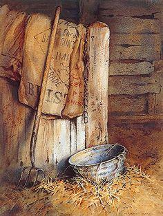 """Gerry Ball RCA """"The Stables, Temple Farm"""""""