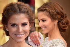 Oscar 2014: Veja os penteados e maquiagens inspiradores usados pelas estrelas - Beleza - UOL Mulher Oscars 2014, Maria Menounos, Big Day, Wedding Hairstyles, Hair Beauty, Pearl Earrings, My Style, Hair Styles, Ideas