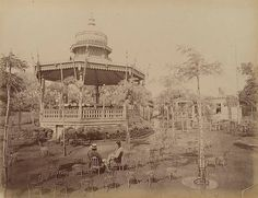 Ezbekieh Garden Music Kiosk, Cairo, Egypt, Late 1800s | Flickr