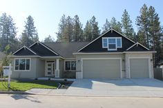 """2017 Fall Festival Home """"The Carson"""" 2641 sf 4 bedroom 4 bath 3 car garage  In-law suite with separate entrance."""
