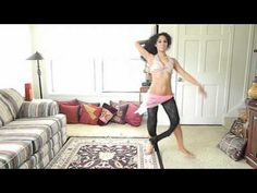 Absolute beginners cardio bellydance workout - 30 min workout