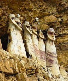 The Standing Sarcophagi of Peru (Atlas Obscura)