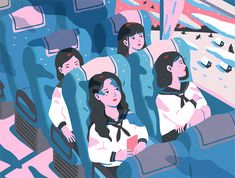 The Journey Of The Girls on Behance