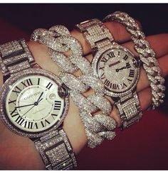Cartier - his and hers!  Definitely getting this for me & hubby! One day.. Haha :)
