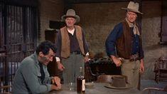 Rio Bravo 1959. Dean Martin, Walter Brennan, and John Wayne.