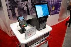 @Leigh Edwards Systems iPad POS showcased in @Ingenico North America's booth at NRF 2013.