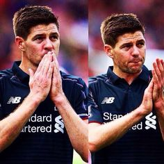 Last game at Liverpool Liverpool Football Team, Liverpool Captain, Liverpool Legends, Liverpool Fc, College Football, Stevie G, This Is Anfield, Sports Personality, Fc Chelsea
