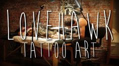 LoveHawk: Tattoo Art. David Hale is a tattoo artist in Athens, GA whose distinct visual style has made him well known throughout the world of tattooing. In this mini-doc, we are given a glimpse into his intentions and the motivation behind his art form. Scored by Caleb Lombardi.  Shot on a Canon t3i with a Canon 50mm 1.8 and a Sigma 30mm 1.4. Sound captured with Zoom h4n.
