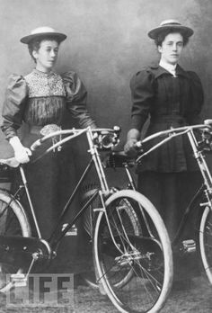 Dressed for Bicycle Riding in 1910