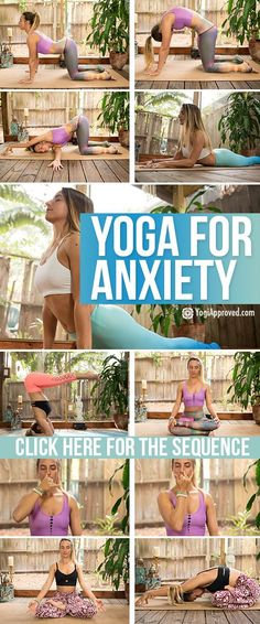 Yoga has been proven to help reduce anxiety. Yoga for anxiety consists of poses and breathing as an effective, natural way to feel better now.
