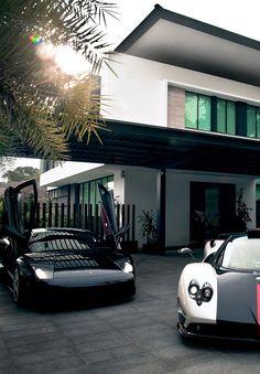 Lamborghini Murcielago & Pagani Zonda Cinque