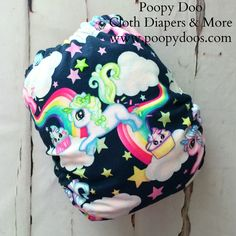 Unicorn Cupcakes AI2 :: Poopy Doo Cloth Diapers & More Online Shop