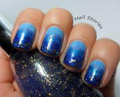 Starry Starry Blue Sky Gradient