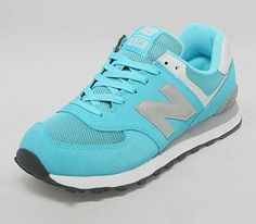 New Balance 574 – Turquoise / Silver