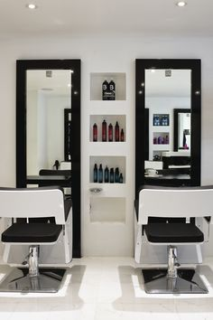 Inkfish Hair Salon by Absolute Interiors www.absolutedesign.co.uk