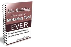 Blog Posts / WHY List Building??? Uncover the Most CRUCIAL ELEMENT to BUILDING YOUR BIZ the Quick & Easy Way! http://normadoiron.net/why-list-building-opt-in/ ✔Wonder why you should be Building a List and collecting your visitors' email addresses?? ✔What if YOU could build a trusting relationship with potential clients and have them buy from you? ✔Do YOU KNOW that Online Business Owners who don't have a list or don't monetize it most likely will not have lasting success? GET the FREE E-Book…