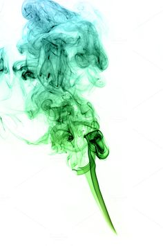 Green and blue colored real smoke on white background Here you can find more fantastic smoke images Hope you like them, and please, feel free to ask whatever E Cigarette Brands, Abstract Photos, Smoke, Creative, Green, Blue, Photography, Couple, Color