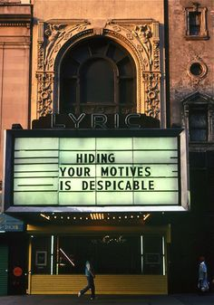 Jenny Holzer; one of the most inspiring installations I've ever seen... At the MCA in Chicago back in 2006, I believe. Changed my life forever