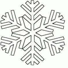Plantillas copos de nieve para manualidades   Divertidas de Navidad
