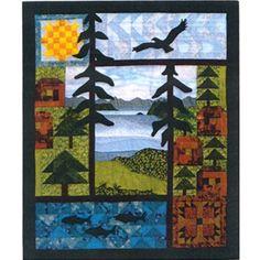 Ellen's Nature Collage Quilts