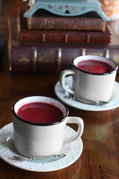 If there is one thing I love on a cold winter's day, it's a cup of hot cocoa. Add to that another one of my loves, red velvet cake, and you have one heck...