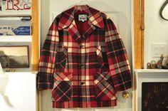 Vintage Men s Medium 40 Woolrich Wool Hunting Jacket / Coat WOW!!